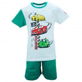 Παιδική Πυτζάμα Dreams 18106 Λευκό Πράσινο Αγόρι