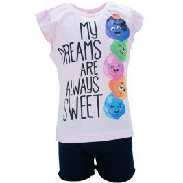 Παιδική Πυτζάμα Dreams 18206 Ροζ Κορίτσι