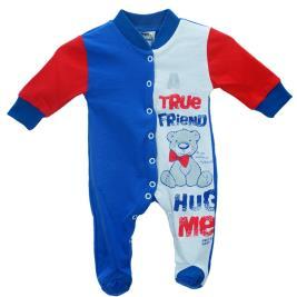 Βρεφική Πυτζάμα Pretty Baby 32842-0-352 Μπλε Λευκό Αγόρι