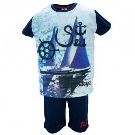 Παιδικό Σετ-Σύνολο NCollege 28-8036 Μπλε Αγόρι