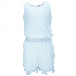 Παιδικό Σετ-Σύνολο Εβίτα 186029 Λευκό Κορίτσι