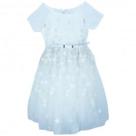 Παιδικό Φόρεμα Εβίτα 186012 Εκρού Κορίτσι
