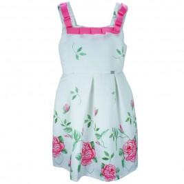 Παιδικό Φόρεμα Εβίτα 186004 Εκρού Κορίτσι