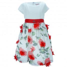 Παιδικό Φόρεμα Εβίτα 186005 Εμπριμέ Κορίτσι