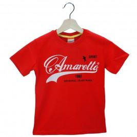 Παιδική Μπλούζα Amaretto A1874 Κόκκινο Αγόρι