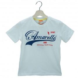 Παιδική Μπλούζα Amaretto A1874 Εκρού Αγόρι