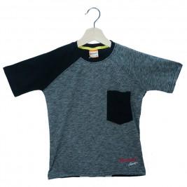 Παιδική Μπλούζα Amaretto A1876 Μελανζέ Αγόρι