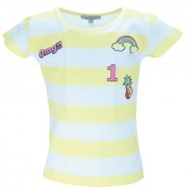 Παιδική Μπλούζα NCollege 28-951 Κίτρινο Κορίτσι