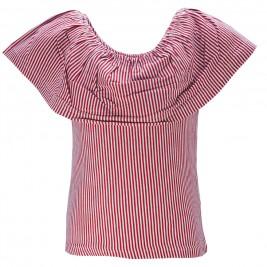 Παιδική Μπλούζα NCollege 28-9050 Κοκκινο Ριγέ Κορίτσι