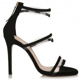 Γυναικείο Πέδιλο Sante 99681-01 Μαύρο