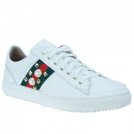 Γυναικείο Sneaker Toutounis 3869 Λευκό