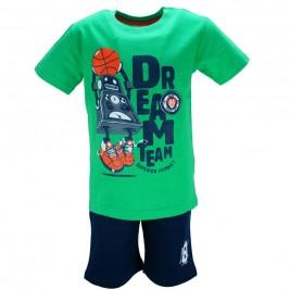 Παιδικό Σετ-Σύνολο NCollege 28-821 Πράσινο Αγόρι