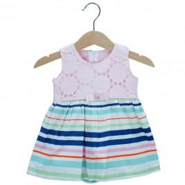 Βρεφικό Φόρεμα NCollege 28-8764 Ροζ Κορίτσι