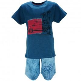 Παιδικό Σετ-Σύνολο Joyce 8380 Μπλε Αγόρι