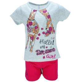 Παιδική Πυτζάμα Dreams 18203 Μελανζέ Φούξια Κορίτσι