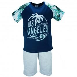 Παιδικό Σετ-Σύνολο NCollege 28-8018 Μπλε Αγόρι