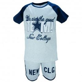 Παιδικό Σετ-Σύνολο NCollege 28-8048 Γκρι Αγόρι