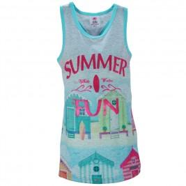 Παιδικό Φόρεμα NCollege 28-753 Γκρι Κορίτσι