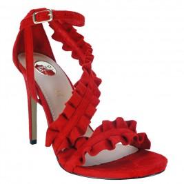 Γυναικείο Πέδιλο Exe Silvia-758 Κόκκινο