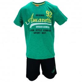 Παιδικό Σετ-Σύνολο Amaretto A1887 Πράσινο Αγόρι