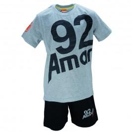 Παιδικό Σετ-Σύνολο Amaretto A1886 Μελανζέ Αγόρι
