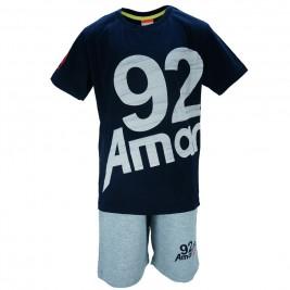 Παιδικό Σετ-Σύνολο Amaretto A1886 Μπλε Αγόρι
