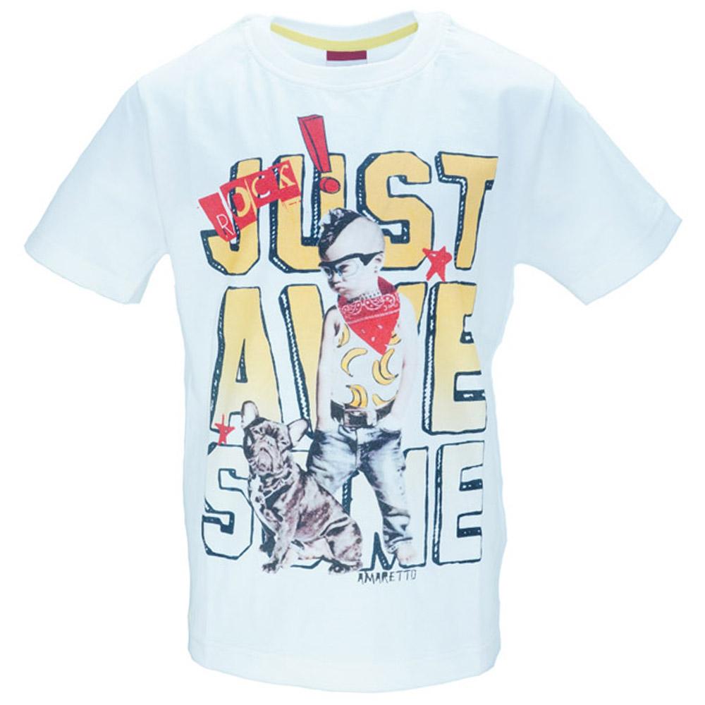 Παιδική Μπλούζα Amaretto B1815 Εκρού Αγόρι 574390e3639