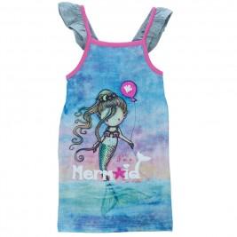 Παιδικό Φόρεμα NCollege 28-759 Γκρι Κορίτσι
