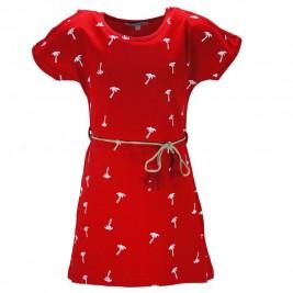 Παιδικό Φόρεμα NCollege 28-7054 Κόκκινο Κορίτσι