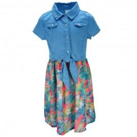 Παιδικό Φόρεμα Εβίτα 186149 Denim Κορίτσι