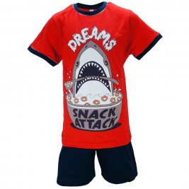 Παιδική Πυτζάμα Dreams 18302 Κόκκινο Αγορι