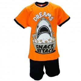 Παιδική Πυτζάμα Dreams 18302 Πορτοκαλί Αγορι