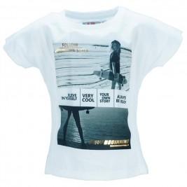 Παιδική Μπλούζα Energiers 16-218210-5 Λευκό Κορίτσι