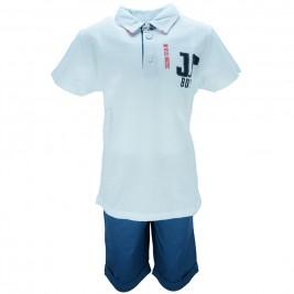 Παιδικό Σετ-Σύνολο Joyce 8381 Λευκό Αγόρι