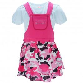 Παιδικό Φόρεμα Joyce 8085 Φούξια Παραλλαγή Κορίτσι