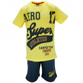 Παιδικό Σετ-Σύνολο Amaretto A1885 Κίτρινο Αγόρι