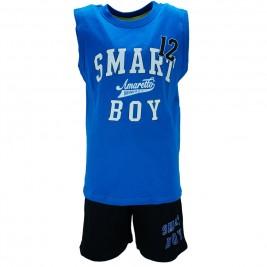 Παιδικό Σετ-Σύνολο Amaretto B1826 Γαλάζιο Αγόρι