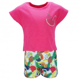 Παιδικό Σετ-Σύνολο Joyce 82406 Φούξια Κορίτσι