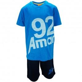 Παιδικό Σετ-Σύνολο Amaretto A1886 Γαλάζιο Αγόρι