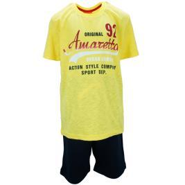 Παιδικό Σετ-Σύνολο Amaretto A1887 Κίτρινο Αγόρι