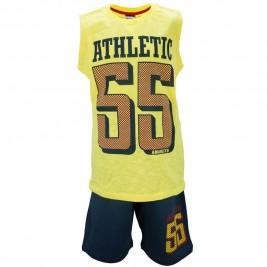 Παιδικό Σετ-Σύνολο Amaretto A1881 Κίτρινο Αγόρι