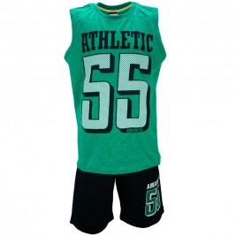 Παιδικό Σετ-Σύνολο Amaretto A1881 Πράσινο Αγόρι