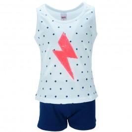 Παιδικό Σετ-Σύνολο Trax 34191 Λευκό Μπλε Κορίτσι