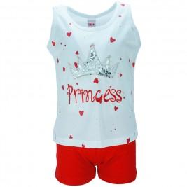 Παιδικό Σετ-Σύνολο Trax 34198 Λευκό Κόκκινο Κορίτσι