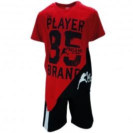 Παιδικό Σετ-Σύνολο Joyce 83414 Κόκκινο Αγόρι