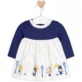 Βρεφικό Φόρεμα Mayoral 2858-053 Μπλε Κορίτσι