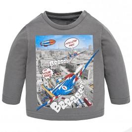 Βρεφική Μπλούζα Mayoral 2036-043 Γκρι Αγόρι