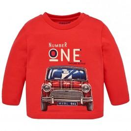 Βρεφική Μπλούζα Mayoral 2012-059 Κόκκινο Αγόρι