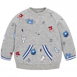 Βρεφική Μπλούζα Mayoral 2422-047 Γκρι Αγόρι