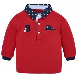 Βρεφική Μπλούζα Mayoral 2116-088 Κόκκινο Αγόρι